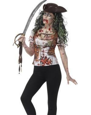 Woman's Zombie Pirate T-shirt