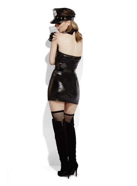 Disfraz de agente de la ley Fever para mujer - Halloween
