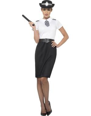 Britisk Politikvinne Kostyme Dame