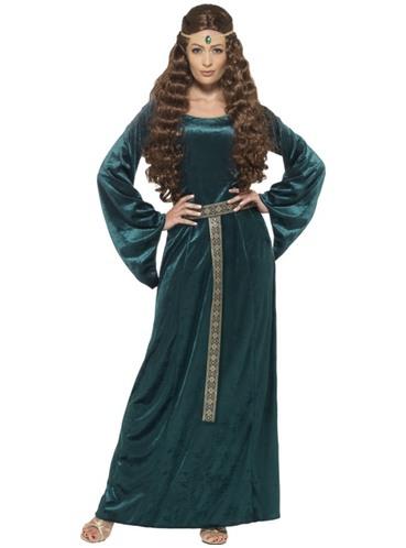 Per Medievale Donna Medievale Dama Dama Costume Costume TiuPkOXZ
