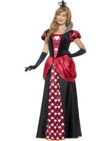 Kongelig Høyhet av Hjerter Kostyme Dame