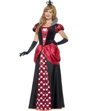 Hjertedronning kostume til kvinder