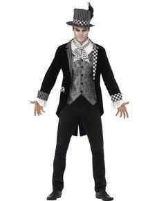Kostium tajemniczy kapelusznik męski