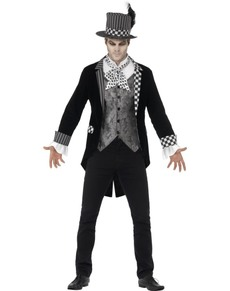 Man's Dark Hatter Costume