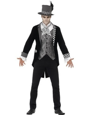 Costum de pălărier obscur pentru bărbat