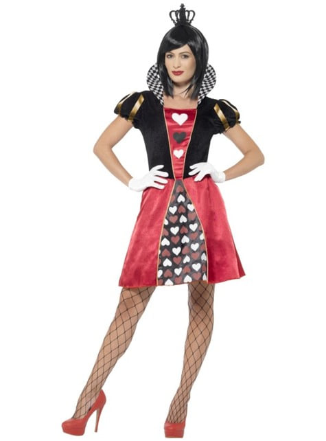 Queen of the Deck of cards costume for woman