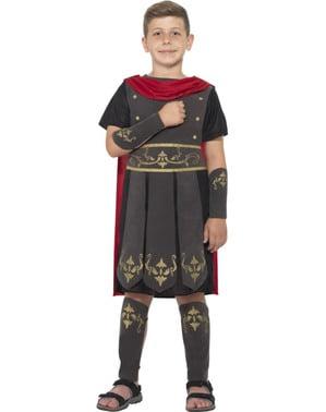 少年のローマの兵士の衣装