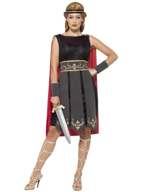 Déguisement combattant romain femme