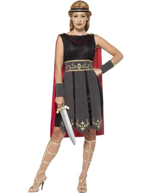 Costume da lottatrice romana per donna