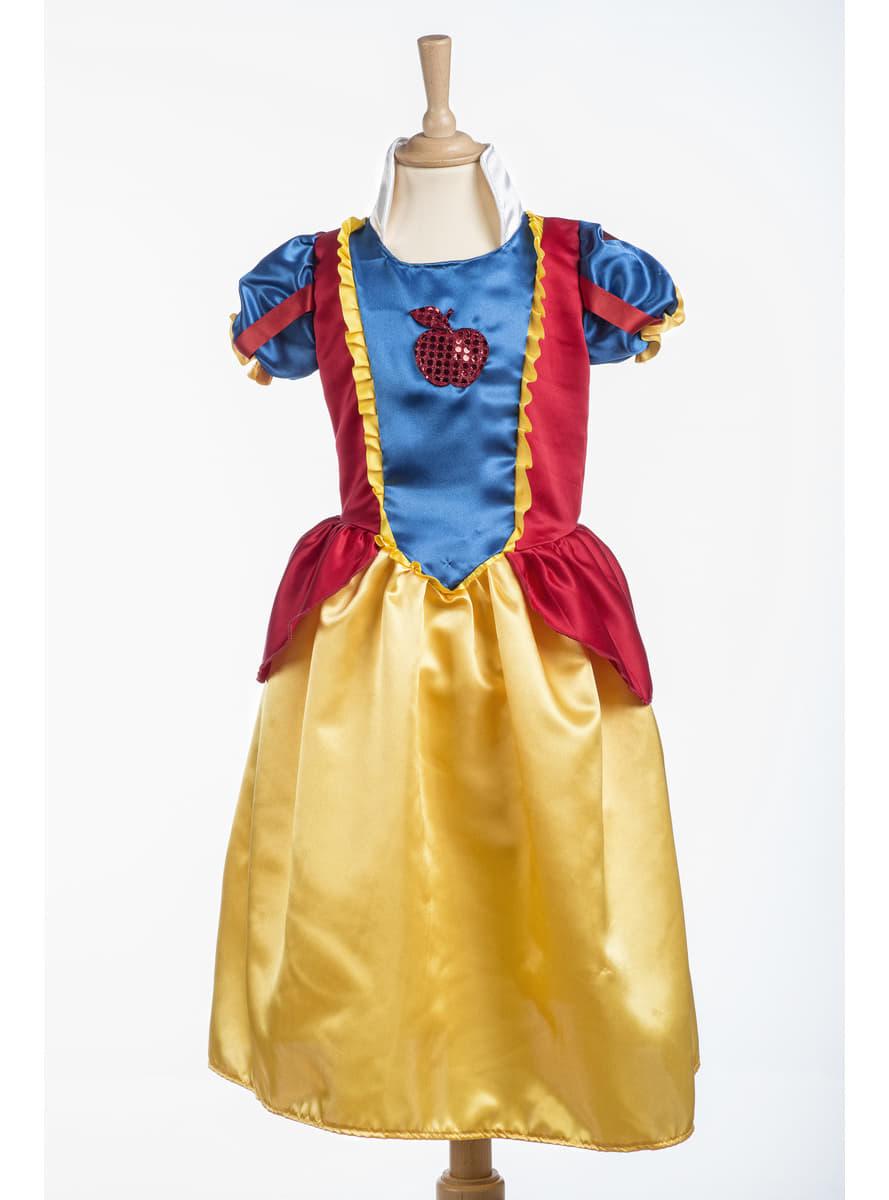 D guisement princesse blanche des neiges fille funidelia - Deguisement princesse des neiges ...