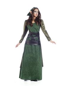 Costume da elfo del signore degli anelli