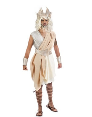 Човешкият Бог на костюма на Олимп