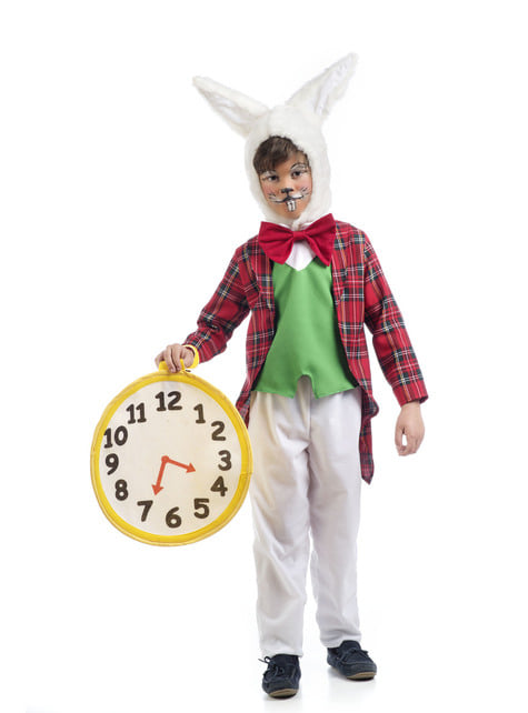 Boy's White Rabbit Costume