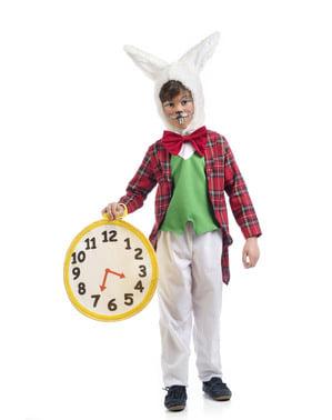 Білий кролик хлопчика костюм