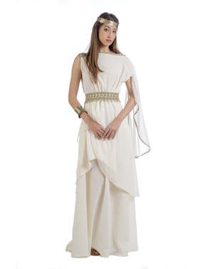 女性のオリンパスコスチュームの女神