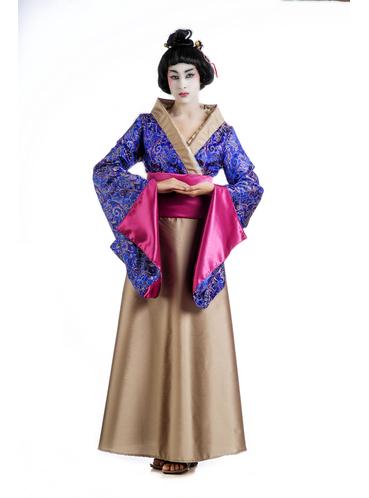 disfraz de geisha flor de loto para mujer funidelia
