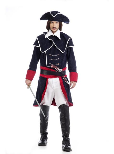 Man's Spanish Armada Captain Costume