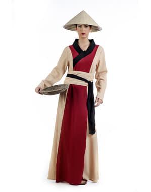Chinesische Bäuerin Kostüm für Damen