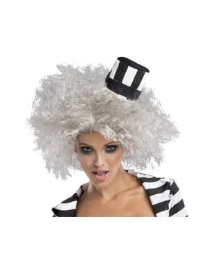 Woman's Beetlejuice Wig