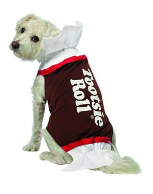 Chocolade Snoepje kostuum voor honden