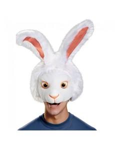 Máscara de conejo Alicia a Través del Espejo para adulto