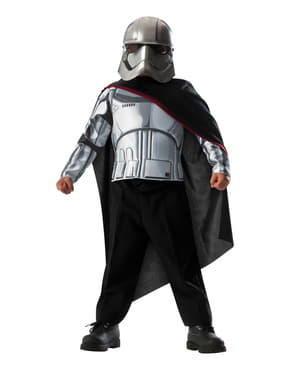 Disfraz de Capitán Phasma Star Wars infantil