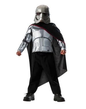 Fato de Capitão Phasma Star Wars infantil