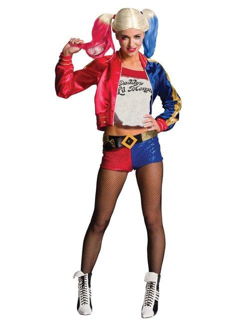 Harley Quinn kostume til kvinder - Suicide Squad