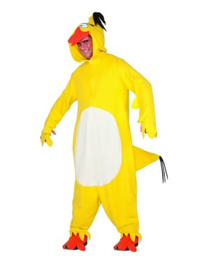 Chuck Angry Birds Kostyme Voksen