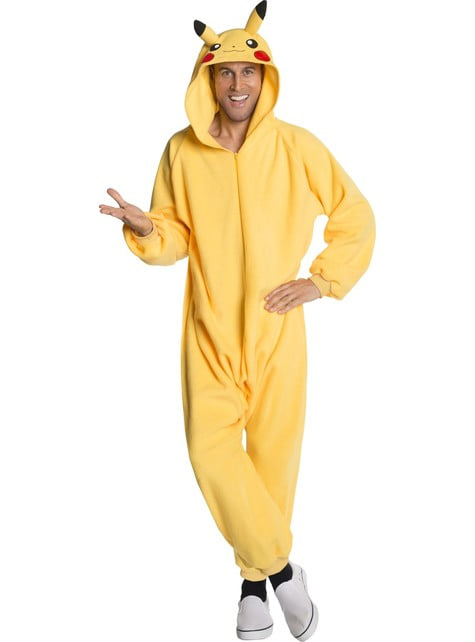 Disfraz de Pikachu onesie para hombre