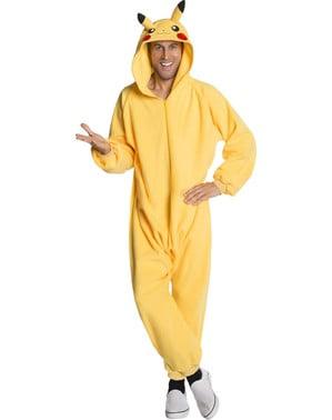 Man's Pikachu Onesie