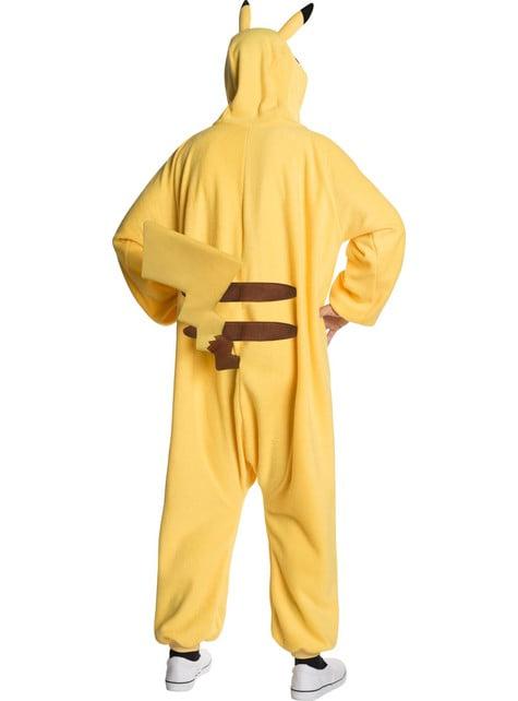 Disfraz de Pikachu onesie para hombre - adulto