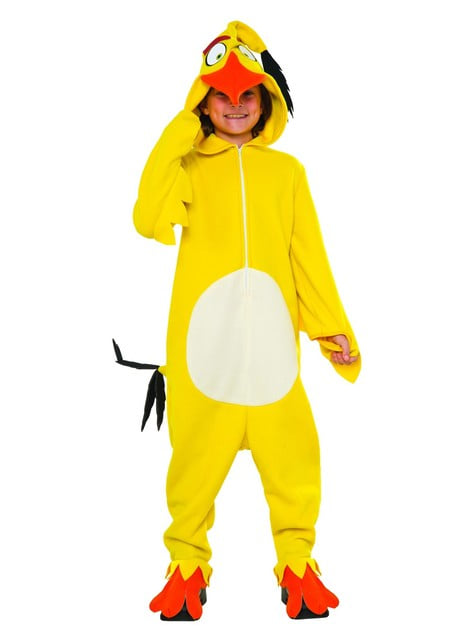 Costume da Chuck Angry Birds per bambini