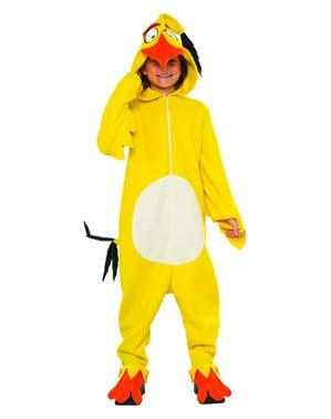 Angry Birds Chuck kostume til børn