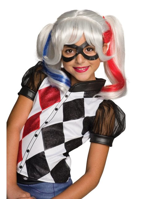 Girl's Harley Quinn Suicide Squad Wig