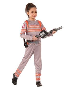 Costume da acchiappafantasmi Ghostbusters 3 deluxe per bambina