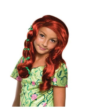 Parrucca da Poison Ivy per bambina