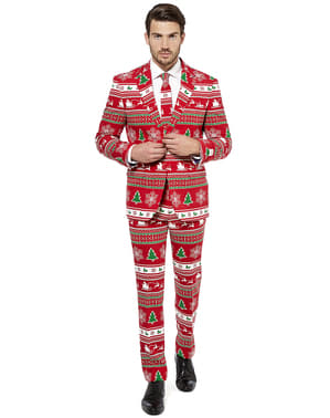 """Červený vianočný oblek """"Wondeland"""""""
