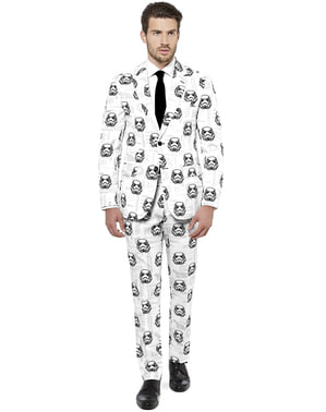 Costume Blanc avec Star Wars Stormtroopers - Opposuits