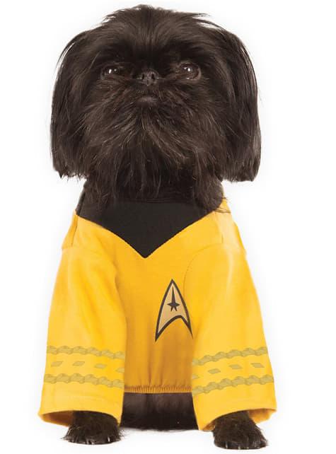 Fato de Capitão Kirk para cão