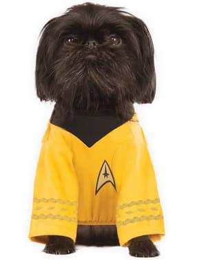 Captain Kirk kostuum voor honden