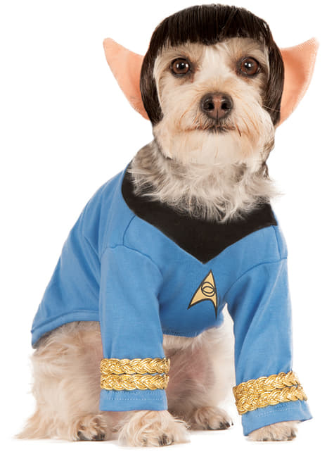 Disfraz de Spock para perro