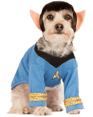 Dog's Spock Costume