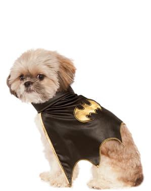 犬のバットガールケープ