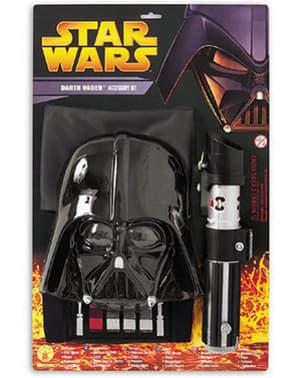 Klassisk Darth Vader Kostyme Mann