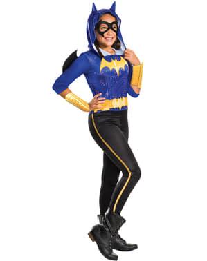 Костюмът на Batgirl на момичето
