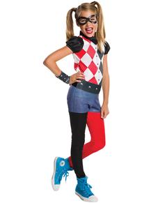 Harley Quinn kostume classic til piger