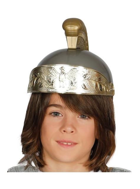 Chlapecká římská přilba