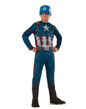 Chlapčenský kostým Kapitán Amerika: Občianska vojna