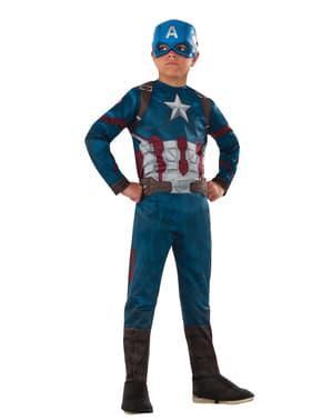 """Детски костюм на Капитан Америка от """"Първият отмъстител: Войната на героите"""""""
